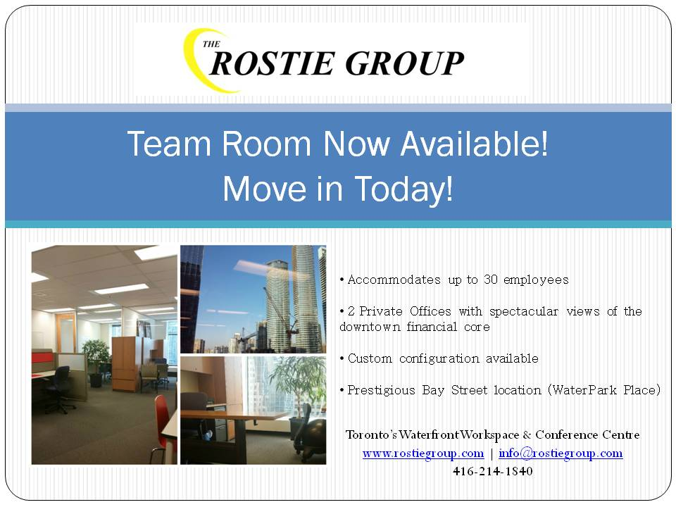 Team Room 700 Now Available