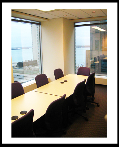 lake view boardroom one frame
