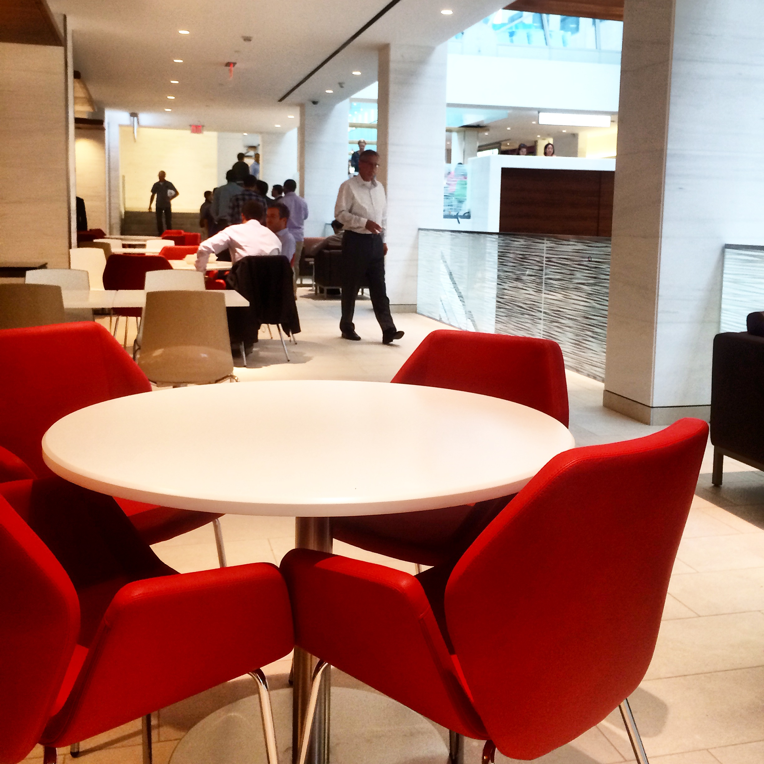 Foodcourt Seating Area