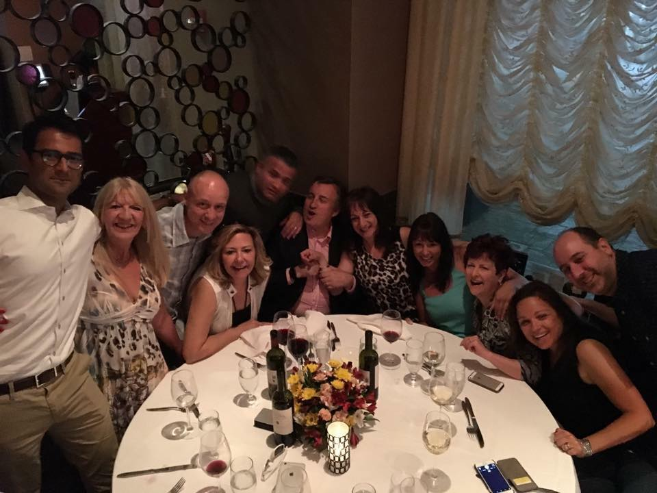 Group Dinner WANY NYC 2016