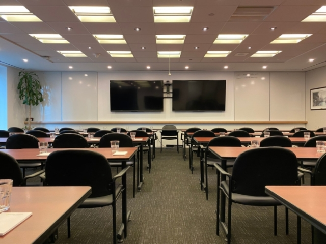 Rostie Group Rainy Lake Training Room Classroom Style