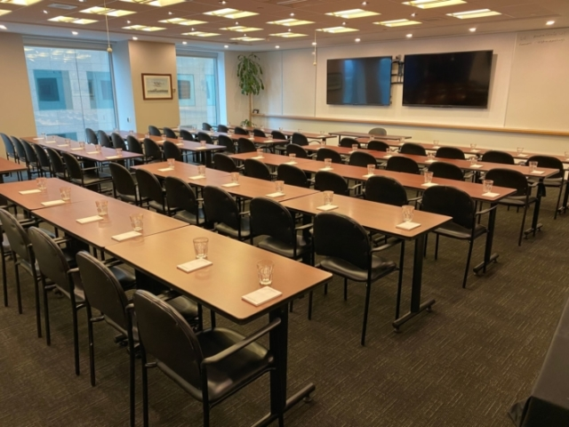 Rostie Group Rainy Lake Training Room Classroom Style 02