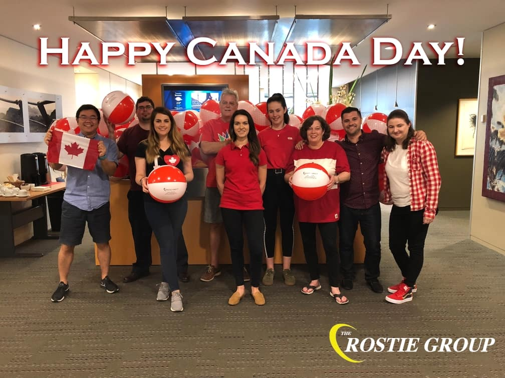 Rostie Group Canada Day