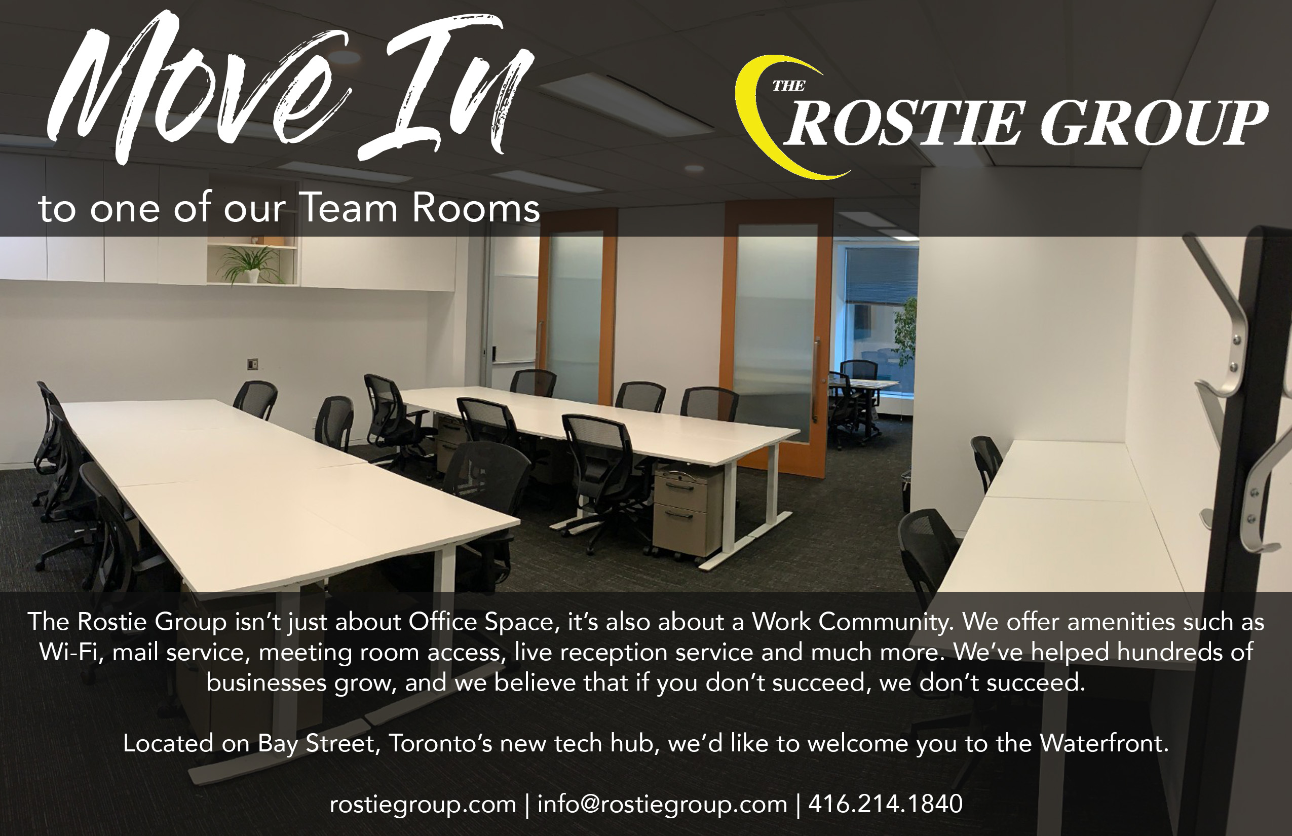 Rostie Group Team Rooms for Rent
