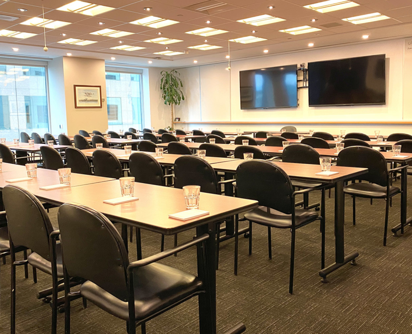 Rostie Group Rainy Lake Meeting Room Main Header Image