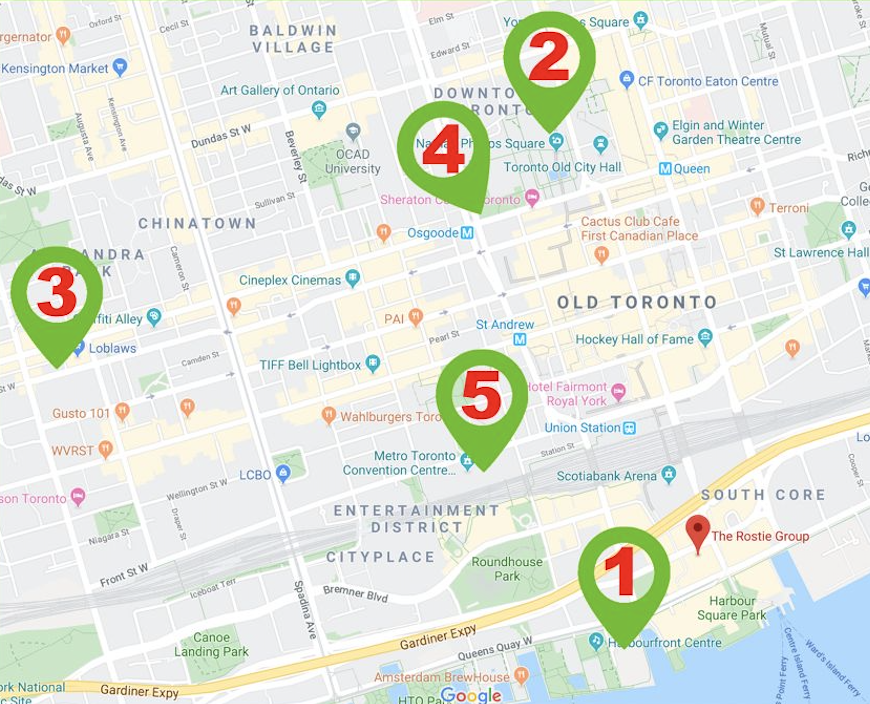 List of events in December in Toronto