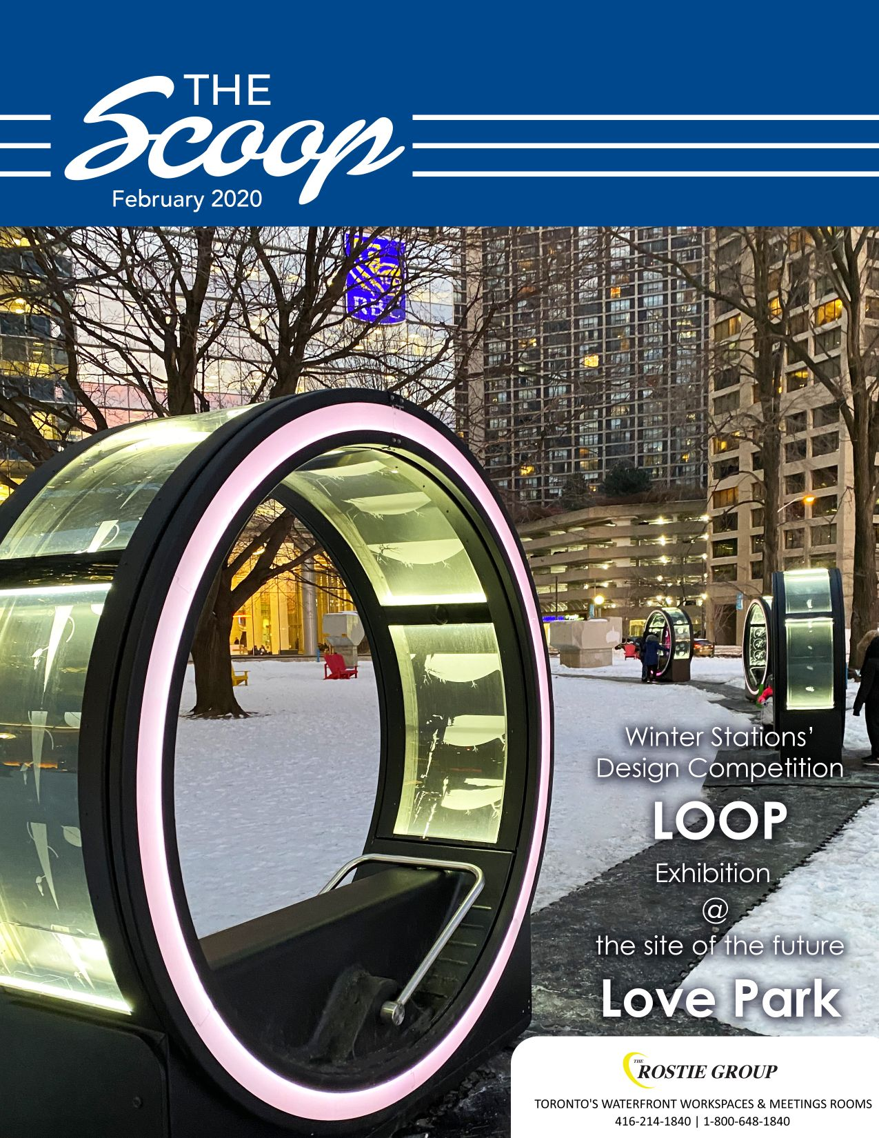 Rostie Group Scoop February 2020 Cover Page