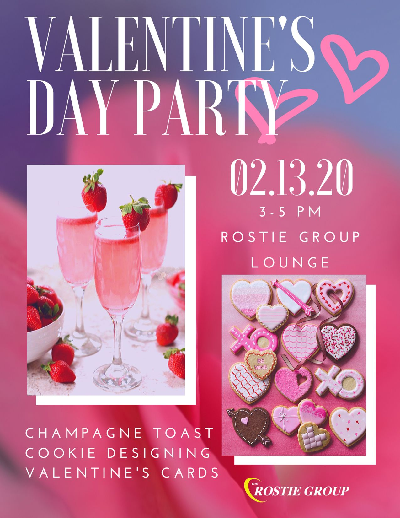Rostie Group Valentine's Event